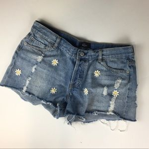 Rails Jesse daisy cutoff shorts